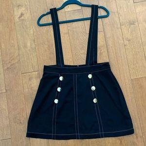 Overall skirt dress